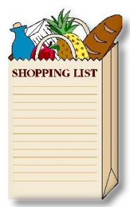Shopping List